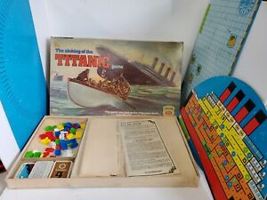 RARE 1976 The Sinking of the Titanic Board Game by Ideal Nearly! SEE PICTURES!