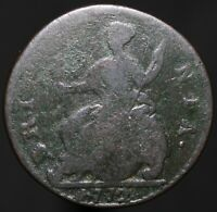 1772 | George III Half-Penny | Copper | Coins | KM Coins
