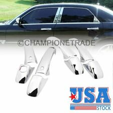 FOR JEEP GRAND CHEROKEE 2005-2010 CHROME 4 DOOR HANDLE COVERS w//oPSK 2008 2009