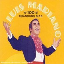 LUIS MARIANO - 100 CHANSONS D'OR 4 CD FRANCAIS/FRENCH CHANSON NEU