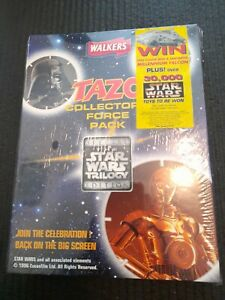 Star Wars Special Edition Walkers Tazo Collectors Force Pack.