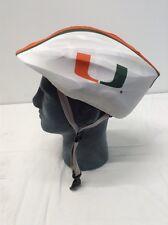 Miami Hurricanes Helmet Cover Bicycle Skate Moto Helmet Skin Hat Cover.