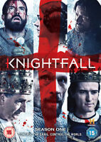 Knightfall: Season One DVD (2018) Tom Cullen cert 15 2 discs ***NEW***