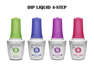 Gelish Dip System Dipping Liquid 4 Steps Basic On Sale!.