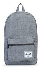 Herschel Pop Quiz Backpack Tasche Rucksack Freizeitrucksack Grau Raven Neu Uni