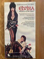 Elvira Mistress of the Dark VHS 1989 Cassandra Peterson new world original