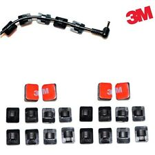 3M Self-adhesive Wire Tie Cable Clamp Clips Holder for Car DashCam Gps 20 Pcs