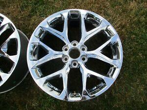 22'' Sierra Silverado Escalade Tahoe Yukon 1500 Chrome Wheel Rim OEM 5668 #8