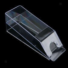 Blackjack Dealer Shoe Game Table Accessories Casino Equipments Clear Acrylic
