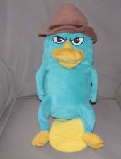 """PHINEAS AND FERB STUFFED PLUSH GREEN BLUE PLATYPUS SOFT CLOTH PILLOW BIG 20"""""""