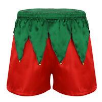 Männer Boxershorts Weihnachtsmann Kostüm Shorts Kurze Hose Hipster Unterwäsche