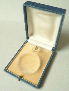 Boite écrin à bijou porte montre à gousset Vers 1910 pocket watch box