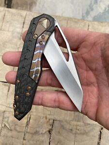 Deryk Munroe Tony Marfione Custom Knives MCK Custom Collab Sigil Flipper Knife