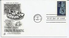 US Scott #1333, First Day Cover 10/2/67 Washington Single Urban Planning