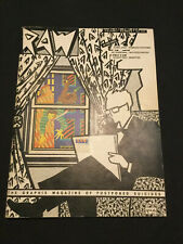 Raw No 1 The Graphix Magazine Of Postponed Suicides -Comics Spiegelman Mouly