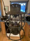 Rare Dietz No.39 Steel Clad RR Lantern With Clear  CNX Globe Mint Condition!!!!!