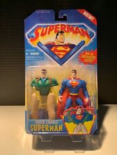 Kenner Superman: Quick Change Superman with Instant Reveal Action 1996 (MOC)