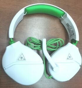 Turtle Beach Ear Force Recon 70 X Gaming Headset Multi-Platform White And Green