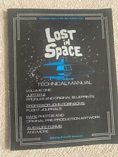 Lost in Space Technical Manual. 1986. Movie Publishers. Rare. Magazine.