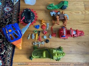 He-Man MOTU Masters of the Universe Weapons Vehicles lot C War Horse c1982