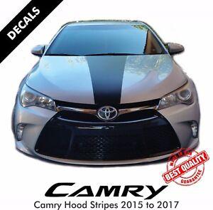 Toyota Camry SE Pre Cut Hood Stripes Decals Vinyl Sticker 2015 to 2017 |41