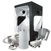 Growbox 120 mit 600-W Watt HPS Growzelt Klima-Komplettset Grow-set NDL Abluft