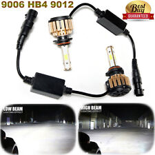 2018 Led Car Truck Drl Headlight Kit 9006 Hb4 9012 980W 6000K 147000Lm Bulb Pair(Fits: Hyundai)
