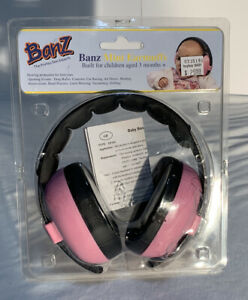 Banz Mini Earmuffs Pink, For Children Aged 3 Months +