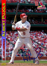ALBERT PUJOLS – St. Louis Cardinals - Genuine ACEO card #12 numbered & signed