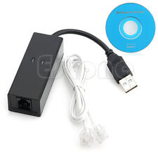 USB 2.0 56K Data V.92/V.90 Telephone Fax Modem Cable Windows XP Win10,Win8,Win7