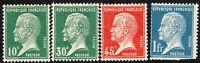 France 1923 part set unmounted mint SG396/397a/398/400b (4)
