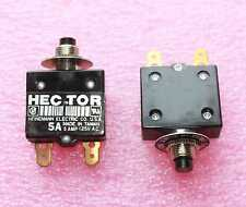 Hector Style Heineman 5A/125V Circuit Breaker - Lot of 3  (24B044)