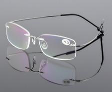 Flexible Memory Titanium-alloy Reading Glasses Women Men reader +1.00 to +4.00