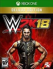 WWE 2K18: Deluxe Edition (Microsoft Xbox One, 2017) Digital Key