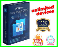 Acronis True Image 2020 🔥Unlimited Devices✔️Lifetime License✔️PRE-ACTIVATED🔥
