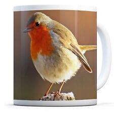 Robin Redbreast Bird - Drinks Mug Cup Kitchen Birthday Office Fun Gift #8701