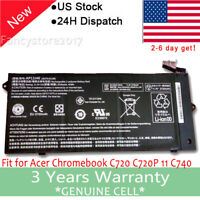 "AP13J3K AP13J4K Battery for Acer Chromebook 11.6"" C720 C740 C720-2848 CB3-431 F"
