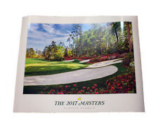 2017 MASTERS Golf Poster from Augusta National - Great Collectible - SHIPS FAST