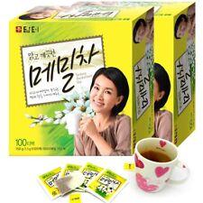 Korean herbal Healthy Tartary Buckwheat Tea 200 Tea bags (100T x 2 Box)