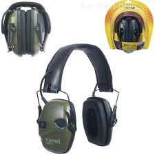 New Electronic Ear Muffs Hearing Protect Noise Earmuffs Shooting Hunting Sport