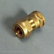 "10mm x 1/4"" BSP Female Compression Coupling Brass CxFI"