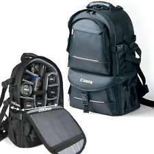 Waterproof DSLR Canon Nikon Camera Backpack Padded Travel Bag Daypack Rucksack N