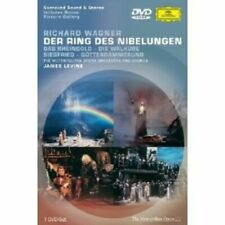 Wagner Der Ring Des Nibelungen Metropolitanlevine DVD 2002 NTSC