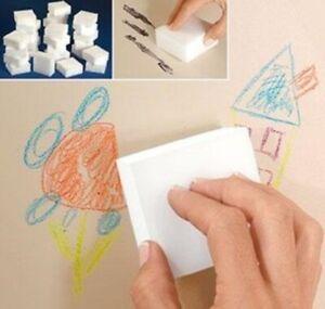Magic Sponge Sponges 60 Pack Cleaning Melamine Foam Eraser Stain Dirt Remover