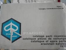 171138 PIAGGIO APE 50 TL2T  CATALOGO PARTI RICAMBIO BROCHURE DEPLIANT KATALOG