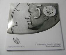 2014 -KENNEDY HALF DOLLAR - 50TH ANNIVERSARY COIN SET - UNCIRCULATED