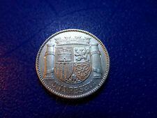 II REPUBLICA ESPAÑA - 1 PESETA PLATA 1933 ESTRELLAS 3-4 MADRID - EBC