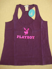 PLAYBOY SWIM WOMEN'S BROADWAY TANK VIOLET SIZE M RARE - BRAND  NEW