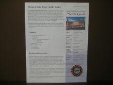 Original MONTE CARLO Casino $10,000.00 Casino Gaming Token (Out of Circulation)