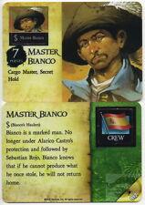Wizkids Pirates Pocketmodel - Master Bianco (Crew) SSH 012 R